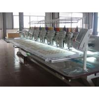 Wholesale Flat / Cording / Taping Multi Head Mixed Embroidery Machine With Automatic Thread Trimmer from china suppliers