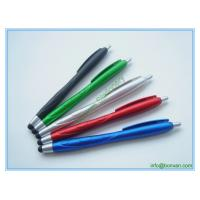 Wholesale plastic stylus touch pen, newly design phone screen touch ball pen from china suppliers