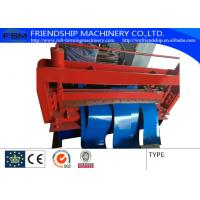 Quality High Capacity Roof Panel Roll Forming Machine , Color Steel Coil Slitting Line for sale