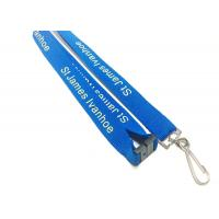 Quality Fashion Custom Polyester Lanyards New Year Activities Necessary With Personalised Logo for sale