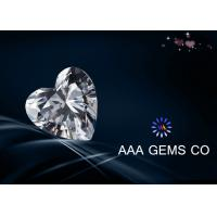Wholesale High Level Heart Synthetic Diamond Moissanite , Colorless Moissanite from china suppliers
