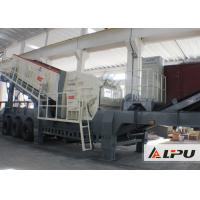 Wholesale Small Impact Crusher Mobile Crushing Plant , Transport Width 3000m from china suppliers