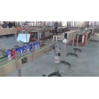 Wholesale Auto Tin Can Manufacturing Machines / Pet Bottle Soda Filling Machine from china suppliers