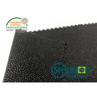 Wholesale Black PA Coated Woven Interlining Twill Woven Stretch Interfacing from china suppliers