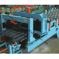 Buy cheap Glazed Roof Sheet Forming Machine Automatic Hydraulic Glazed Tile Roll Forming Machine / Roofing Tile Process Line from wholesalers