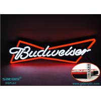 Wholesale Custom Budweiser Beer Logo Neon Lights Signs for Outdoor / Indoor from china suppliers