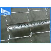 Wholesale Residential Galvanized Steel Wire Mesh , Security Chain Link Wire Fence from china suppliers