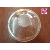 Wholesale 16oz  Ice Cream Disposable Plastic Lids For Frozen Yogurt  / 5.0g In BOPS Material from china suppliers