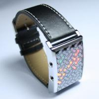 Quality Genome - Japanese Inspired Red Yellow Green LED Watch for sale