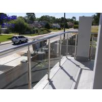 Quality top sale iron balcony railing designs / balcony railing design /glass balustrade for sale