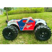 Quality Brushless 4WD Electric RC Car / Monster Wheel 4X4 RC Truck Metal Chassis for sale