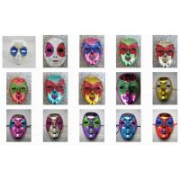 Wholesale Painting Full Face Party Mask For Halloween Venetian Masquerade Party from china suppliers