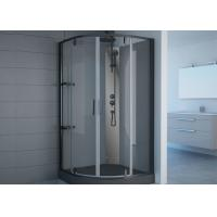 Wholesale Black Frame Free Standing Shower Stall 800 X 800 Pivot Hinge Shower Door from china suppliers