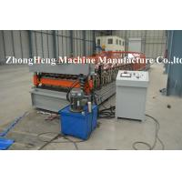 Wholesale Hydraulic Roofing Sheet Roll Forming Machine with 18 stations of forming rollers from china suppliers
