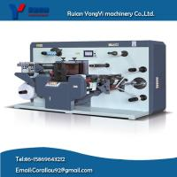 Buy cheap YY-320 auto matic full servo label roll rotary flexible die cutting with sheeting machine from wholesalers