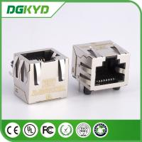 Wholesale 10 Base - TX Rj45 Shielded Connector , Ethernet Rj45 Single Port KRJ - 56S8P8C1X1WDNL from china suppliers