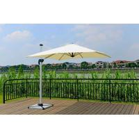 Wholesale 2.5M Deluxe Rome Aluminum Patio Umbrella , Outdoor Offset Umbrella With Granite Stand from china suppliers
