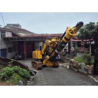 Wholesale 1.1m Cylinder Stroke Hydraulic Piling Rig For 16m Max  Drilling Depth 1.2m Diameter from china suppliers