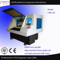China Two Working Station CNC Drilling And Milling Machine V-Cut PCB Separator on sale