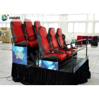 Wholesale Platform 6 Seats 5D Cinema System Electric Pneumatic System Bubble Wind Effects from china suppliers