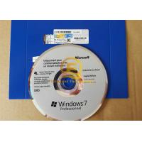 Wholesale OEM French 32 64 Bits Windows 7 Pro Pack Product Key Sticker / Label / COA from china suppliers