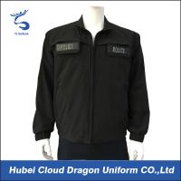 Buy cheap Waterproof Black Military Tactical Shirts For Security Guards from wholesalers