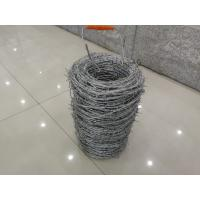 Buy cheap Electric Galvanized 16*18# Wire Gauge Double Twist Barbed Wire from wholesalers
