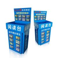 Wholesale Full printed Cardboard Recycling bin / CMYK Printing retail dump bins from china suppliers