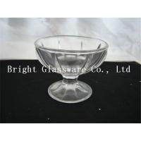 Wholesale 7oz glass ice cream bowl, glass cup sale from china suppliers