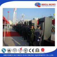 Wholesale Walk through security gates metal detector gate , prisons to detect weapons on human body from china suppliers