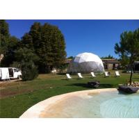 Wholesale 6m Diameter Small Geodesic Dome Tent For Home , Party , Reception from china suppliers