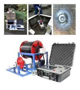 Buy cheap CCTV Inspection Camera Borehole Video Inspection Camera Pipeline Camera from wholesalers