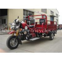 Wholesale Steel Plate Automatic 3 Wheel Motorcycles For Passenger , Commercial Tricycles from china suppliers