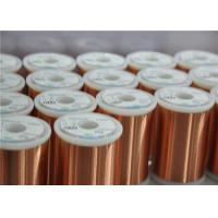 Wholesale Different Colors Enamelled Copper Winding Wire Super Fine 0.018 - 0.8mm For Motors from china suppliers