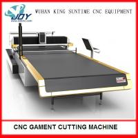 Wholesale Electric Automatic Fabric Cutter , CNC Cloth Cutting Machine With Completed Spreading from china suppliers