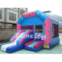 Wholesale Clown 0.55mm PVC Tarpaulin Inflatable Combo Bouncer for Outdoor Amusement from china suppliers