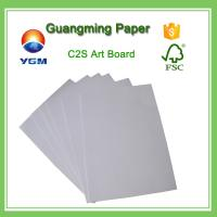 Wholesale Bulk C2S Coated Large Cardboard Sheets , Plain Cardboard Sheets For Art Projects from china suppliers