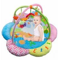 Wholesale Custom Made Lovely Flower Baby Play Gyms Playmat And Gym For Babies from china suppliers