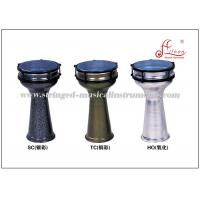 Wholesale Aluminum Turkish Darbuka Percussion Musical Instruments Color Powder Coated from china suppliers