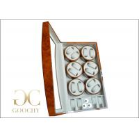 Wholesale Six Multiple Watch Winder Box for 12 Men Automatic Watches Christmas Gifts from china suppliers