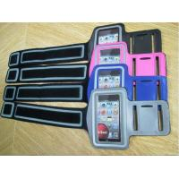 Colorful PU/Neoprene Leather Mobile Phone Pouches , Sports Armband Case for iPhone/SAMSUNG/XPERIA