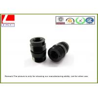 Wholesale Black POM / Derlin ABS / PVC CNC Plastic Machining For Mechanical Parts from china suppliers