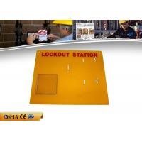 Wholesale OEM ABS Material Lock Out Station Available 4 Padlocks 1 Hasp And Tagout from china suppliers