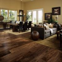 Buy cheap Luxury Indoor acacia hard wood floors waterproof acacia solid wood flooring from wholesalers