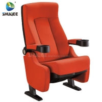 Wholesale Hot Selling Home Theater Seating Modern Design Cinema Chair With Cup Holder from china suppliers