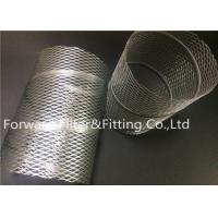 Wholesale Spiral Locked Center Tube Expanded Metal Mesh Framework SUS 201 , 304 , 316 from china suppliers