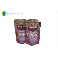 Wholesale Print Foil Stand Up Pouch Packaging 370g For Sauce , Gravure Printing from china suppliers