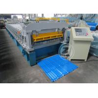 Buy cheap Customized Roof Tile Roll Forming Machine Mitsubishi PLC , Roof Tile Making Machine from wholesalers