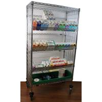 Wholesale NSF Metal Slanted Display Shelving Rack for Hospital/Drugstore from china suppliers