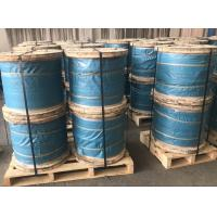"Wholesale 5/16"" Galvanized Steel Wire Strand Steel Messenger Cable ASTM A 475 Class A EHS from china suppliers"